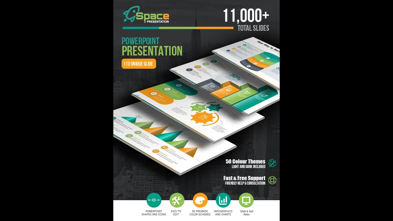 Startup business presentation powerpoint template corporate startup business presentation powerpoint template corporate multipurpose free graphicriver business youtube toneelgroepblik Gallery