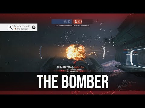 The Bomber Trophy / Achievement Tutorial - Star Wars Battlefront 2