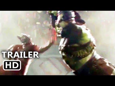 "THOR 3 Ragnarok ""Hulk VS Thor"" Trailer (2017) Fight, Blockbuster Movie HD"