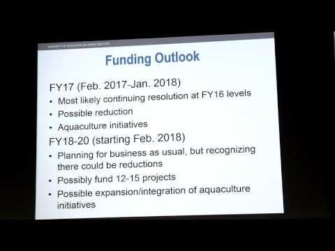 Wis. Sea Grant Prospective Investigators Meeting, March 16, 2017