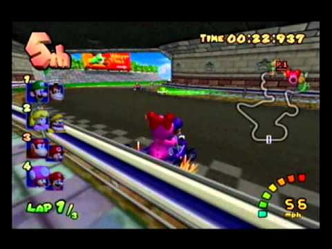 Let's Play Mario Kart Double Dash (19): How To Get Petey Piranha And King Boo