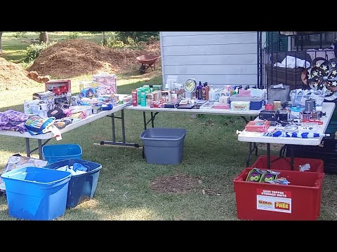 Yard Sale Day, Chat With Us While We Wait For Customers