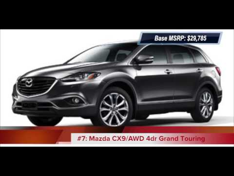 Top 10 2013 Lowest Price SUVs With 3rd Row Seats