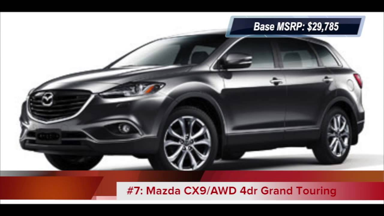 Cars With Third Row Seating >> Top 10 2013 Lowest Price Suvs With 3rd Row Seats