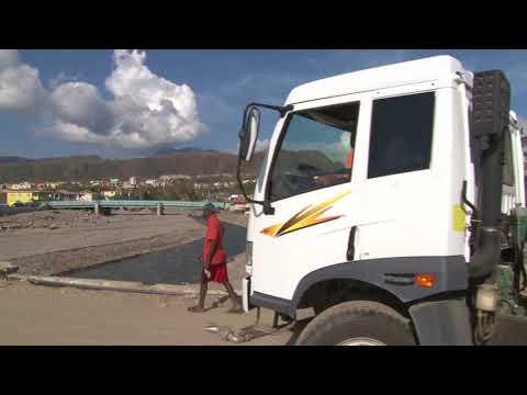 Oct. 11, 2017: Scenes of clean-up around Roseau