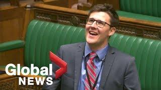 Political blooper: MP's Scottish accent baffles British parliamentarian