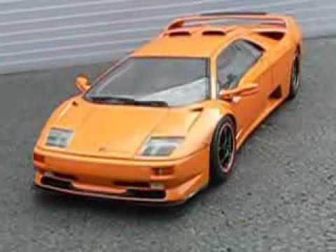 Lamborghini Diablo Sv Affolter 1999 Resin Kit From Apm 1 18