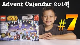 2014 LEGO STAR WARS Advent Calendar DAY 7 - Set 75056 + Question of the Day!