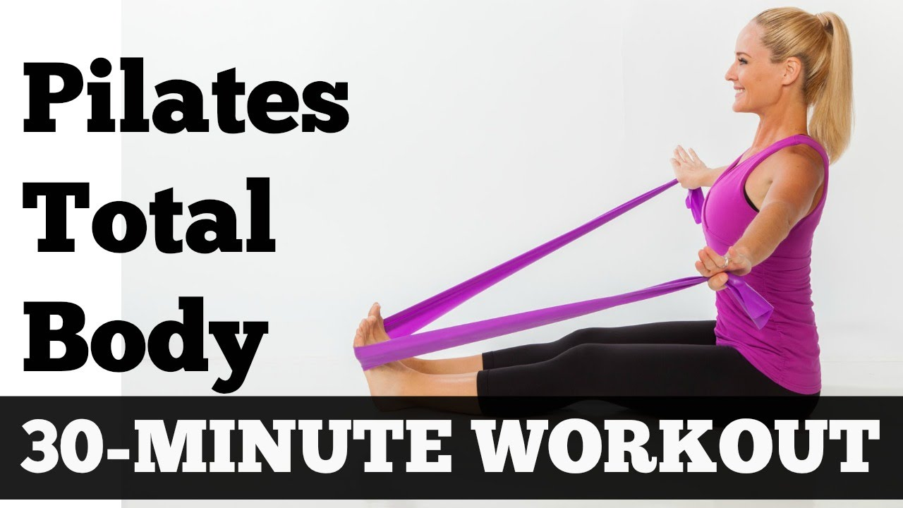 Pilates Workout 30 Minutes Full Body Sculpting Exercise
