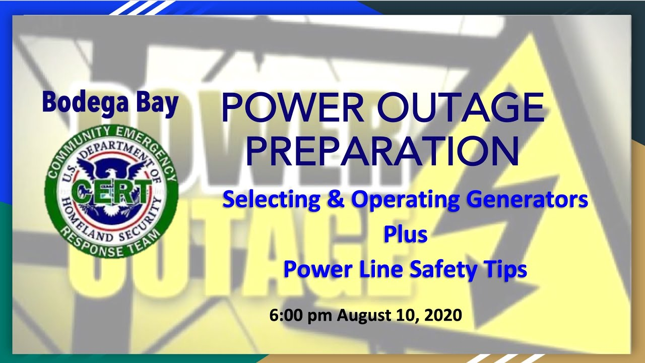 BB CERT General Meeting 10 August 2020 Videos