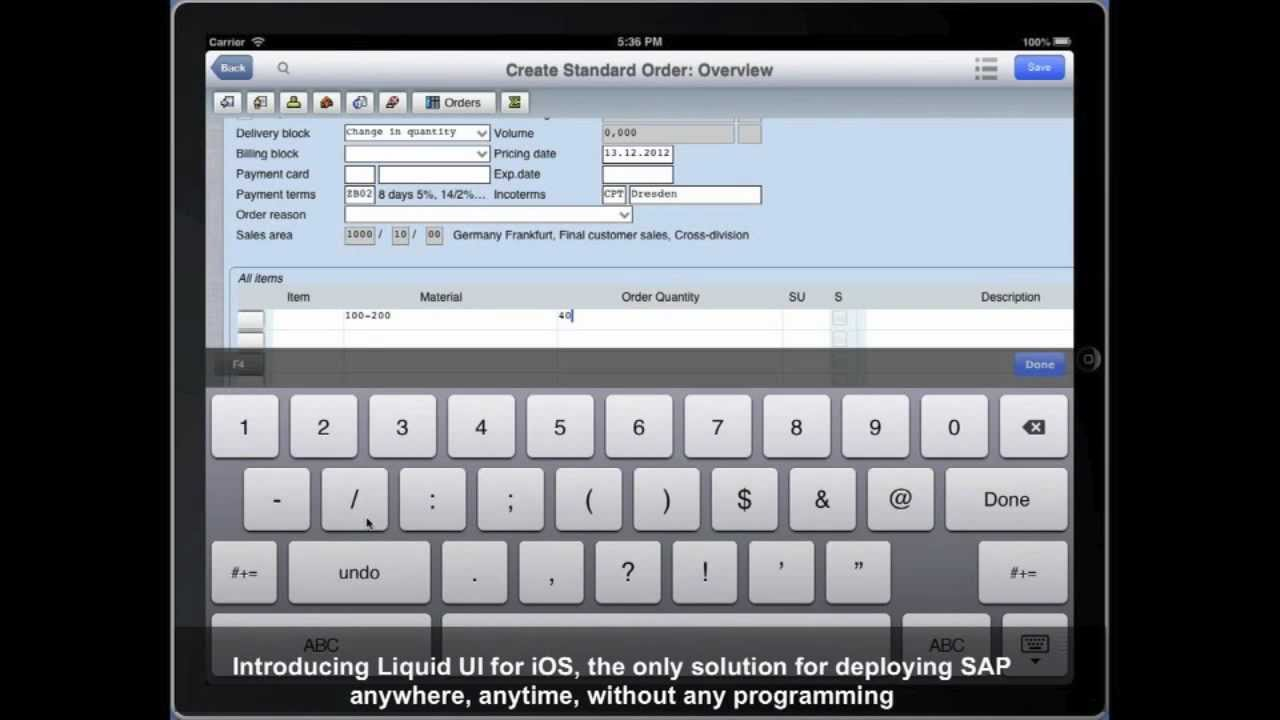 SAP ERP App and Platform by Synactive Inc  Delivers SAP