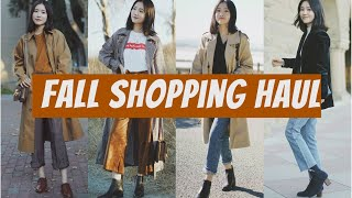 Fall shopping haul | 大型秋装购物分享 | Other stories | uniqlo | free people | ganni | madewell | 牛牛Emily