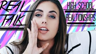 REAL TALK - HIGH SCHOOL RELATIONSHIPS || Natalie-Tasha Thompson
