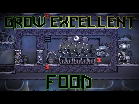 Farming and Cooking Tutorial! Oxygen Not Included Agricultural Upgrade