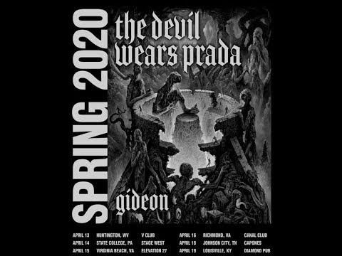 The Devil Wears Prada tour with Gideon announced..!
