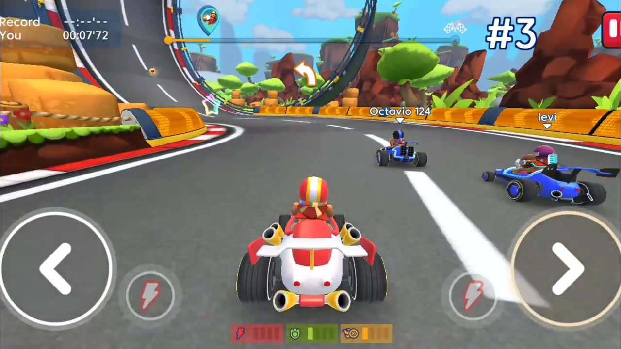 Starlit On Wheels : Super kart Game Android