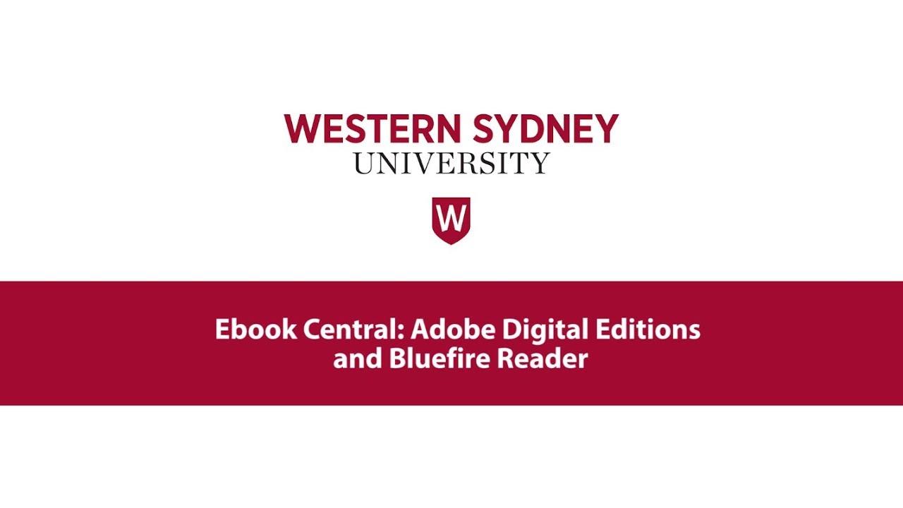 Adobe Digital Editions Ebook