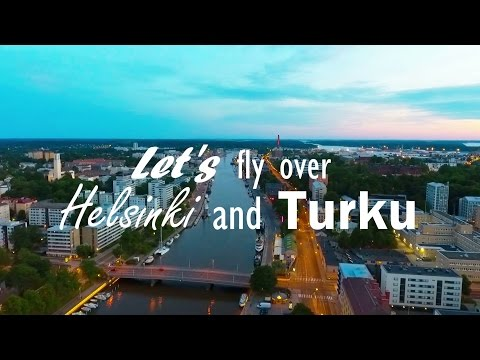 Finland | Helsinki & Turku Drone footage | Nuria Castro