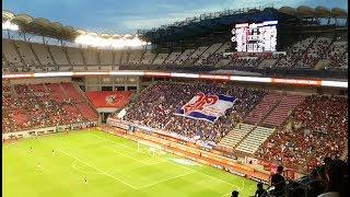 2018 J1 第23節 鹿島アントラーズ vs 横浜F・マリノス - マリノス チャント(試合前)