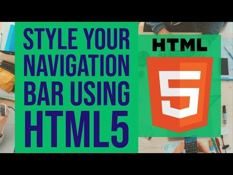 HTML 5 | Style your Navigation Bar (2019) thumbnail