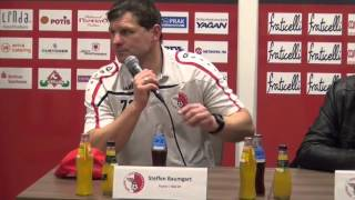 Pressekonferenz Berliner AK 07 - FSV Optik Rathenow 12.12.2015