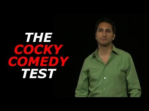 The Cocky Comedy Test