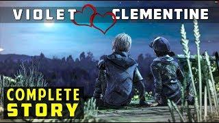 Violet & Clementine - Complete Love Story | The Walking Dead (Violet x Clem Romance)