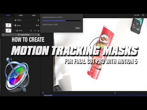Motion Tracking Masks For Final Cut Pro Footage Using Motion 5!