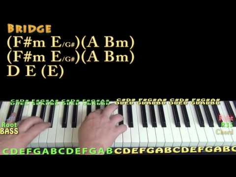 Secret Love Song (Little Mix) Piano Lesson Chord Chart