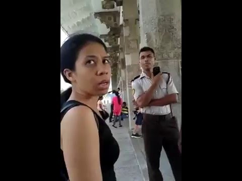 Cultural Police In Action - Sri Lanka