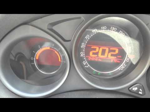 Citroen C4 1.6 HDI 115 Hp Hız Denemesi [Alpine] 215 km\h