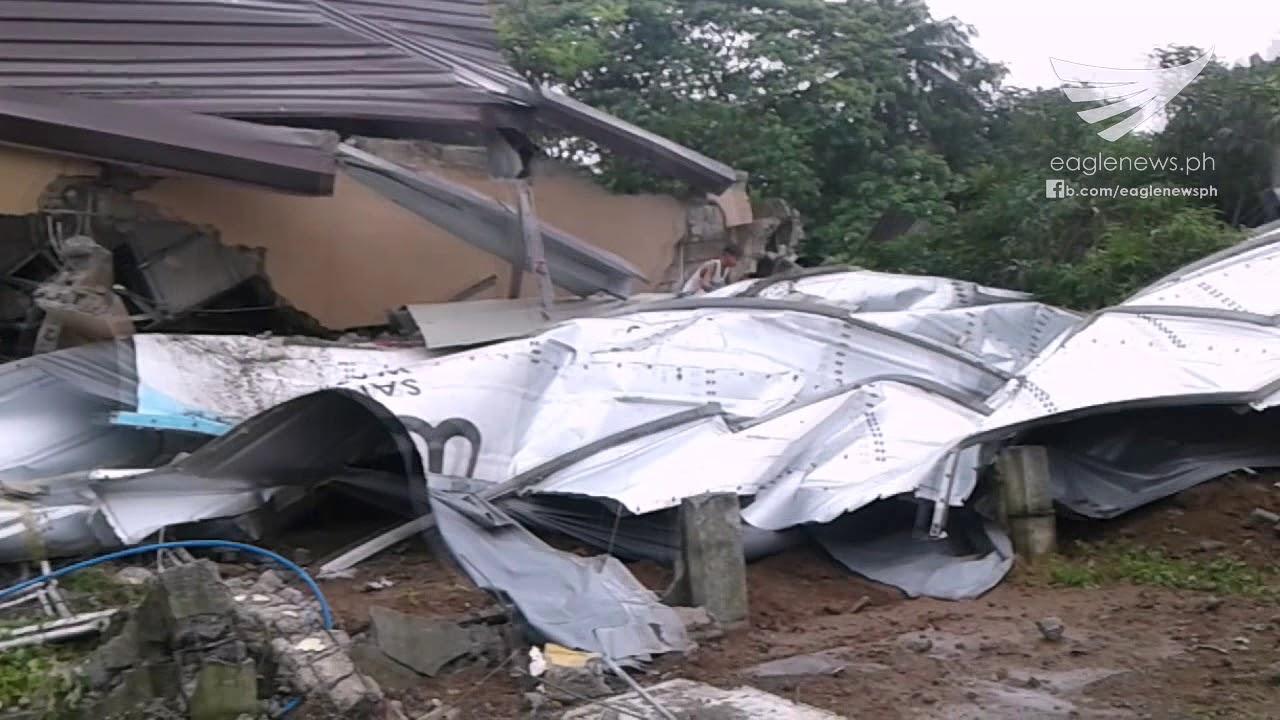 Water Tank Destruction : Destruction in parts of a san jose del monte bulacan