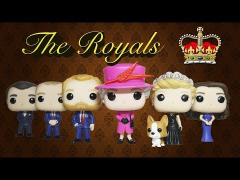 The Royal Family Funko Pop Collection Review | The Royals Princess Diana