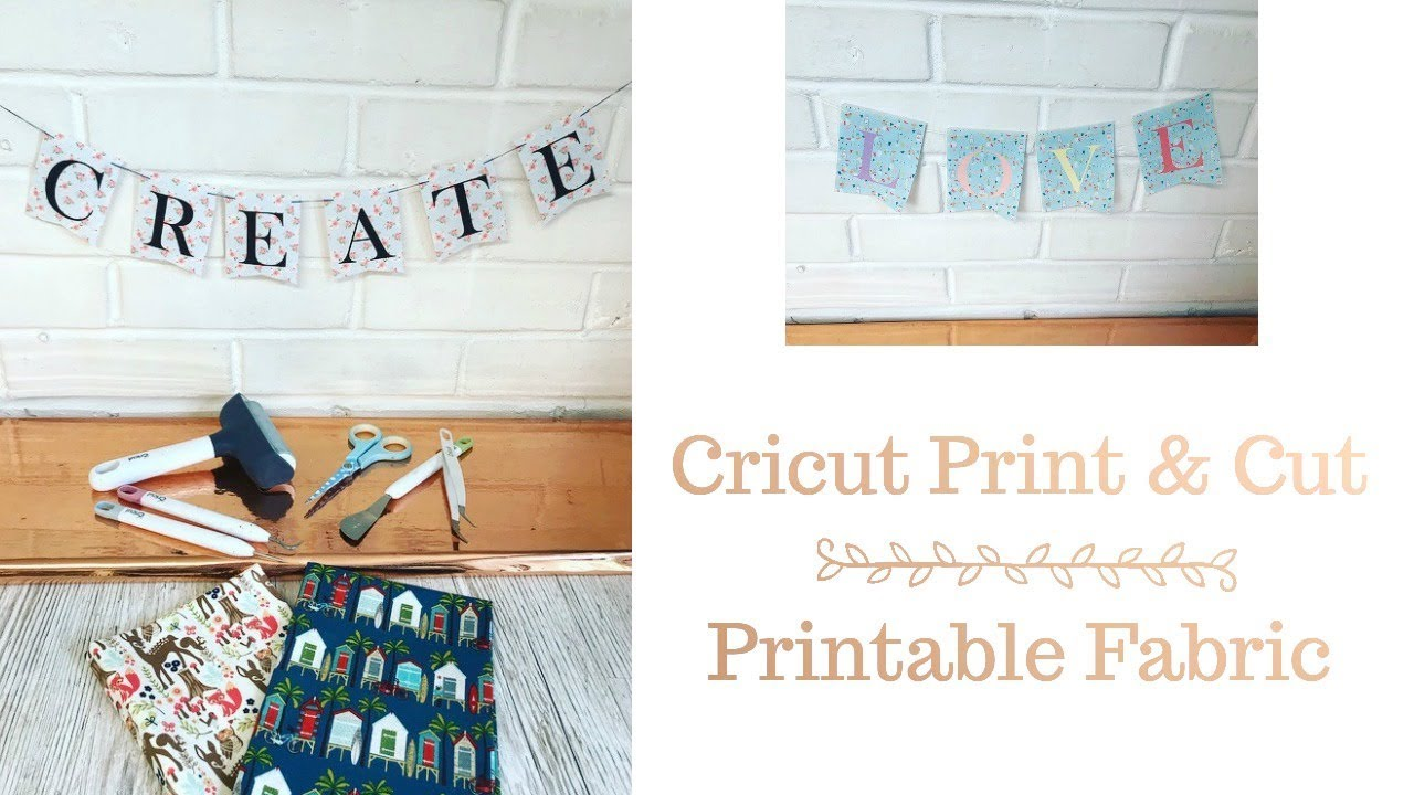 photo relating to Printable Fabric titled Cricut Print Minimize - Printable Material
