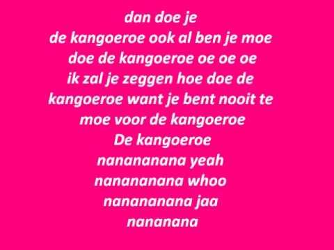 Buzz club- Kangoeroe Lyrics