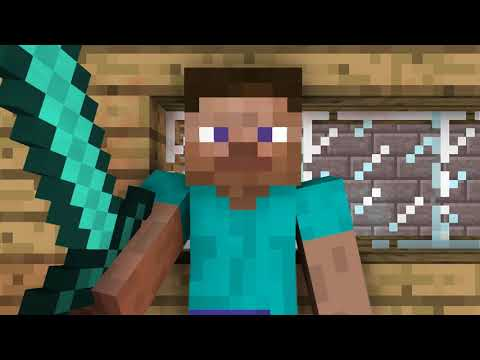 Minecraft parody of Twisted Sisters Were not gonna take it!