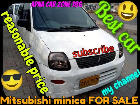 Mitsubishi Minica 660cc FOR SALE  Review: Price, Specs & Features | Apna car zone 786