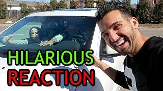 STUCK in CAR with FART BOMB PRANK