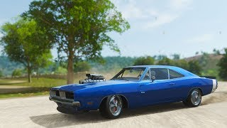 Dodge Charger R/T 1969 Forza Horizon 4 Gameplay No Commentary / Test Drive / Freeroam / Race