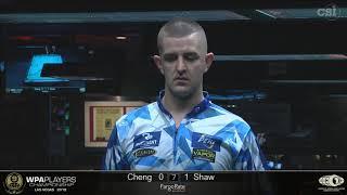 Jayson Shaw vs Yu Hsuan Cheng: 2019 WPA Players Championship Main Event