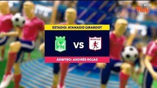 Nacional vs. América (Mejores Momentos)   Liga Aguila 2019-1   Fecha 18