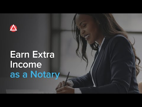 How Becoming A Notary Can Help You Earn Extra Income