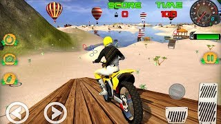 Motocross Beach Game Bike Stunt Racing (by Novatech Inc) Android Gameplay [HD]