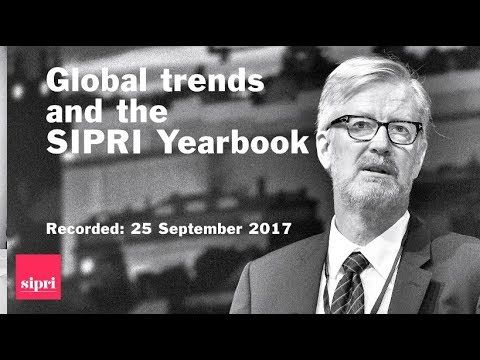 Peace Points: Global trends and the SIPRI Yearbook