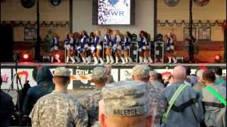 Cowboys Cheerleader USO Tour Kuwait 2012