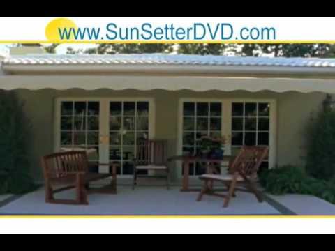 Home Patio Awning New York Sun Setter - Aluminum Awnings ...
