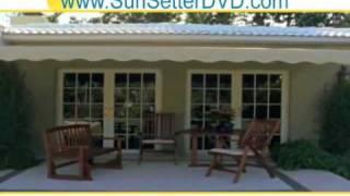 Home Patio Awning New York Sun Setter - Aluminum Awnings
