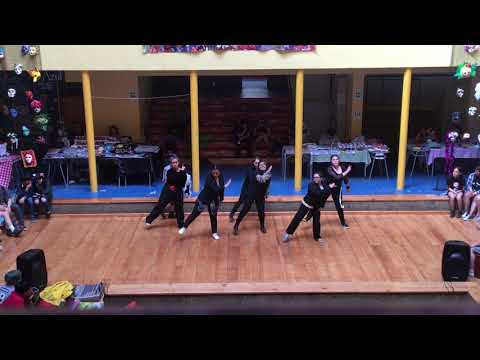 NRG ~ Super Junior ft. Leslie Grace - Lo siento (dance cover) Fan anime Ancud 2019