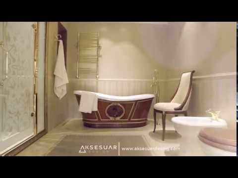 Aksesuar Design  - Lineatre Classic Bathroom Designs - Istanbul Showroom