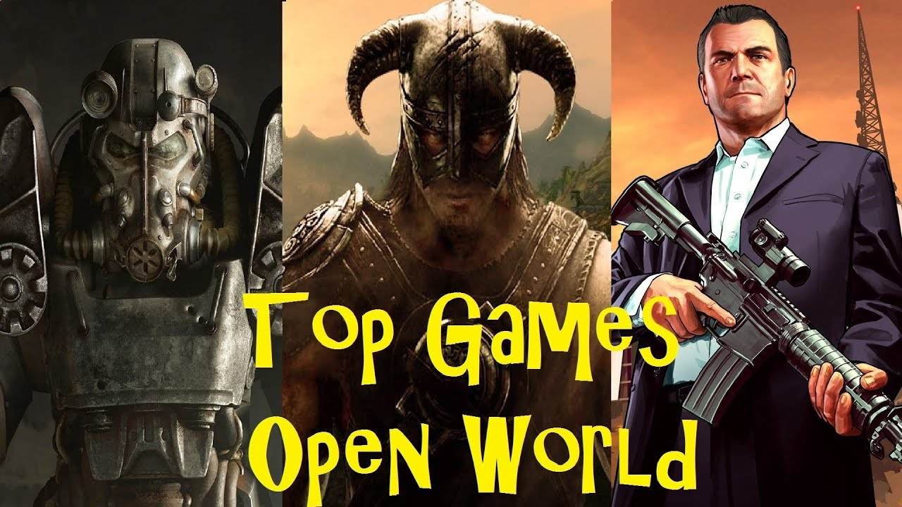 Luctopviet: Top 10 Game thế giới mở HAY NHẤT (Open World Games)